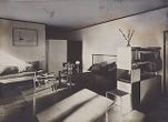 Bauhaus Masters' Housing, Dessau, 1925-1926: Lucia Moholy and László Moholy-Nagy's Living Room