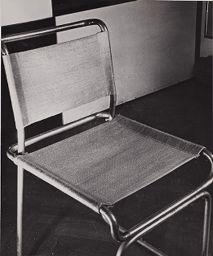 Tubular Steel Furniture Cover Made From Plant Fibers