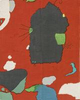 """Fabric """"Montabaur,"""" Color No. 7"""