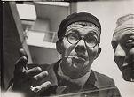 Max Bill and Edmund Collein at the Bauhaus