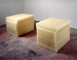 Untitled (Double Rubber Plinth)