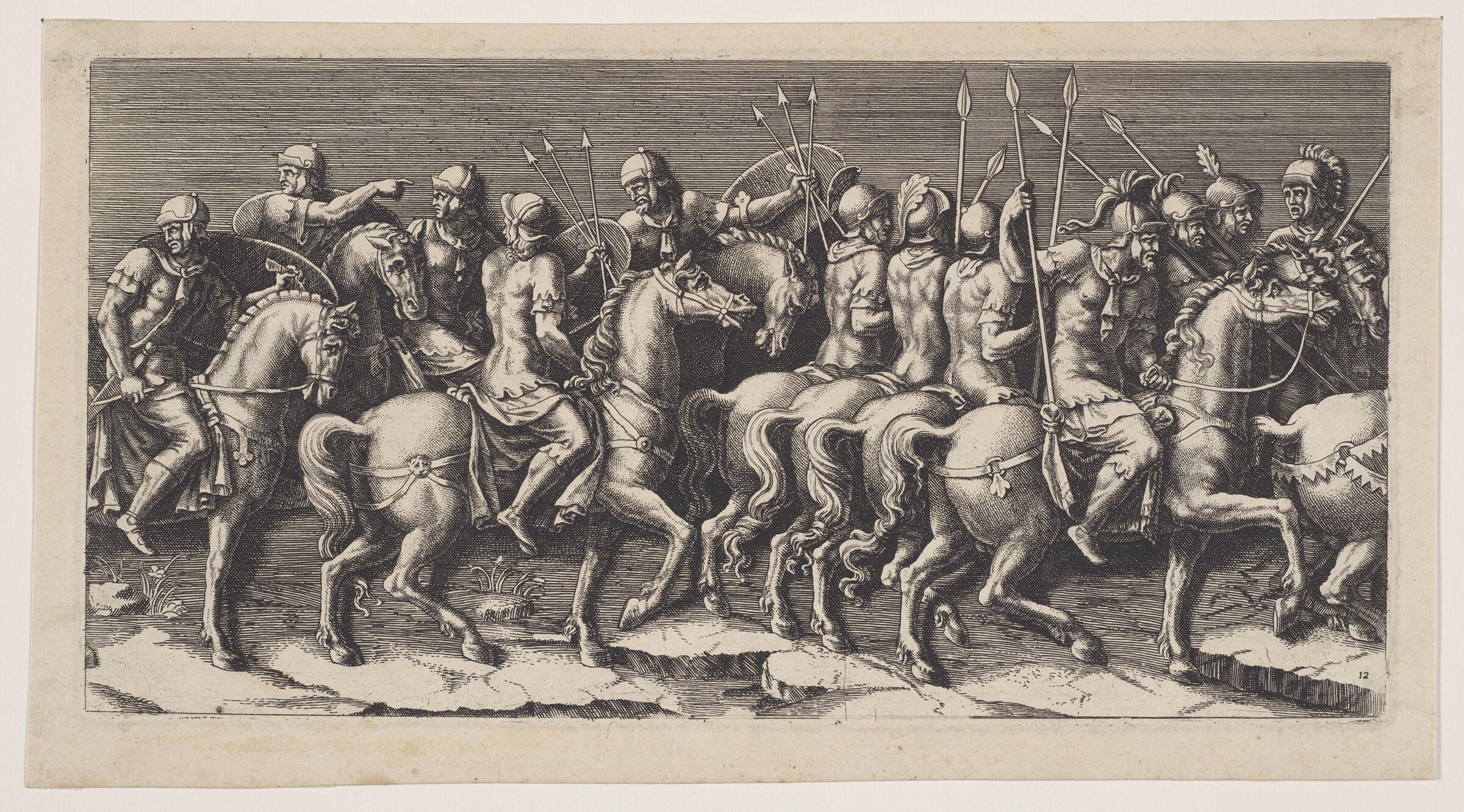Archers On Horseback
