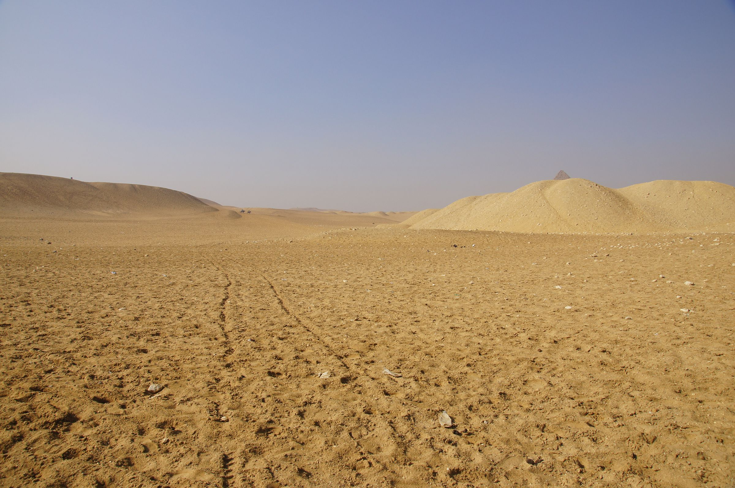 General View: Site: Giza; View: Menkaure Pyramid