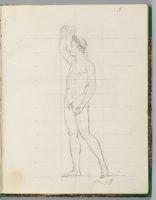 Napoleon, Nude, Crowning Himself; Verso: Sketch For The Loge Of Madame Mère