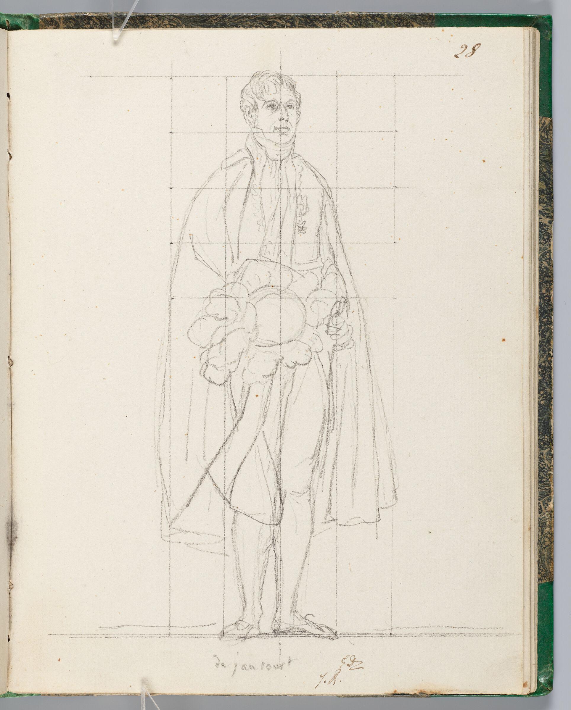 Marquis De Jaucourt, Chamberlain