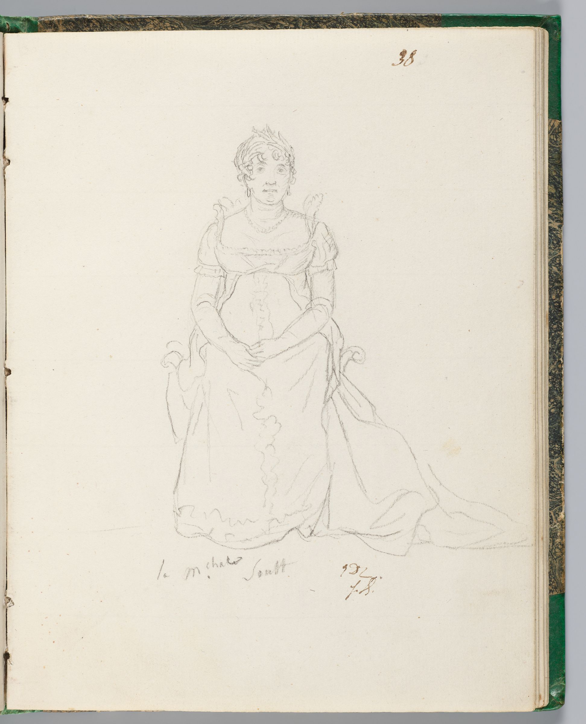 Madame La Maréchale Soult, Lady-In-Waiting To Madame Mère