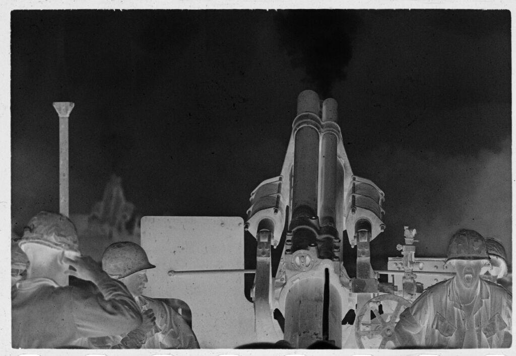 Untitled (Firing Rocket Launcher, Vietnam)