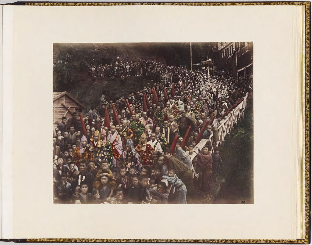 Untitled (Crowd At A Festival Or Procession)
