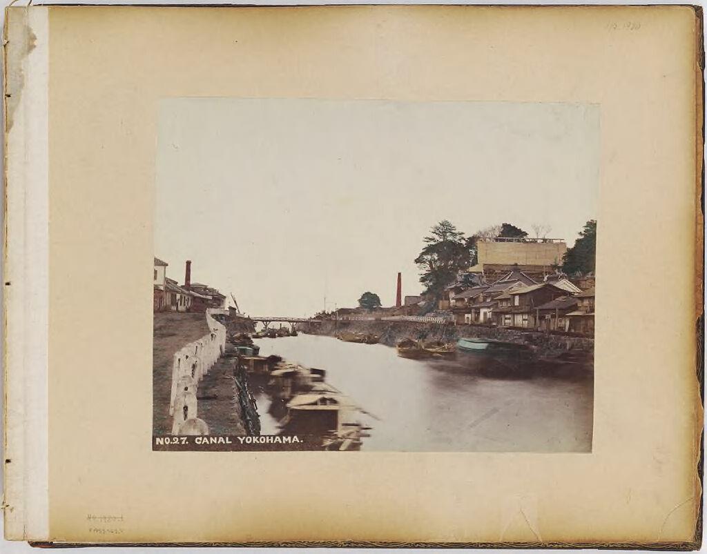 No. 27. Canal Yokohoma