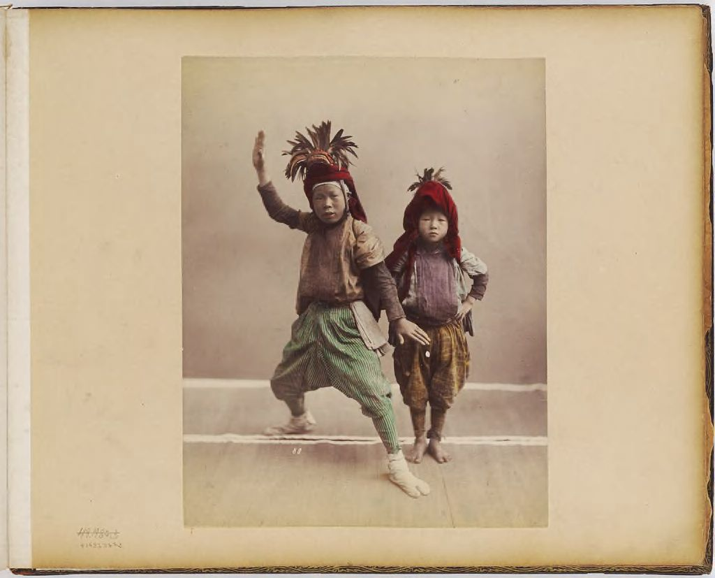 Untitled (Two Boys In Headdresses)