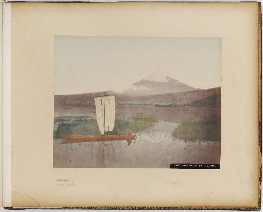 No. 107. View Of Fujiyama