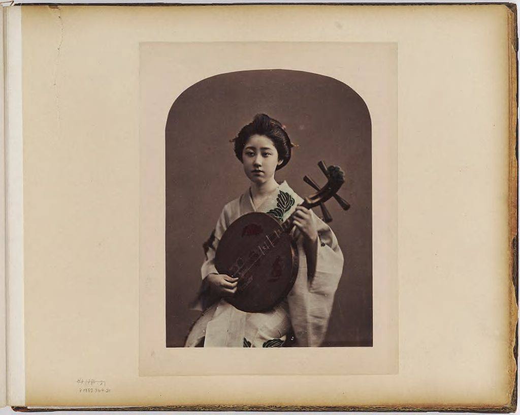 Untitled (Woman With String Instrument)