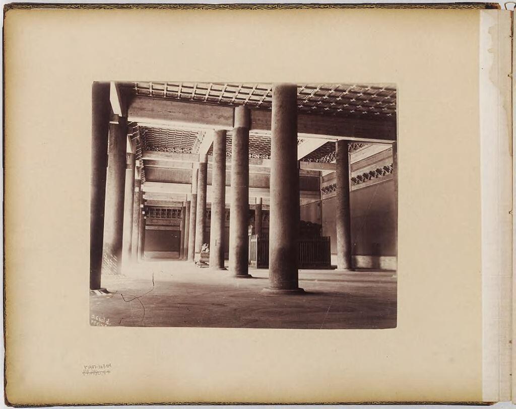 Untitled (Interior With Columns, Peking)