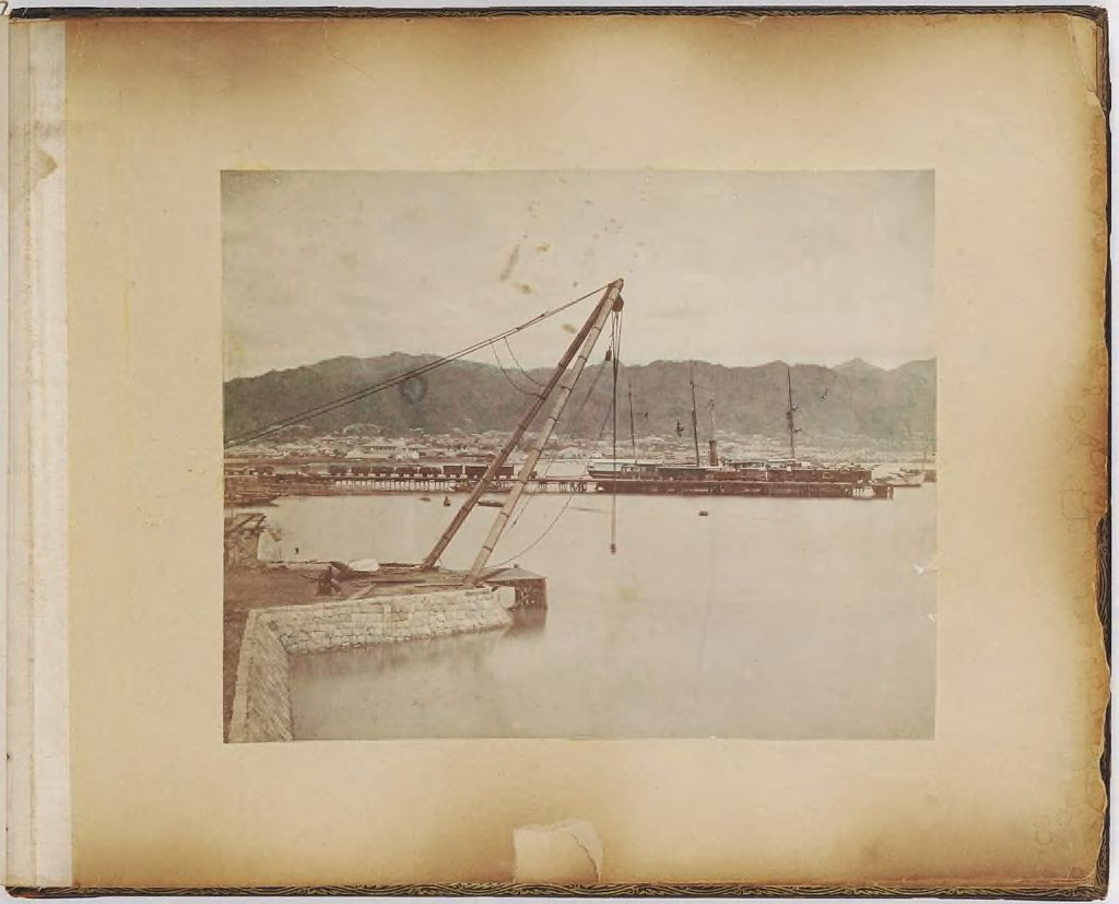 Untitled (Port With Ship In Background)