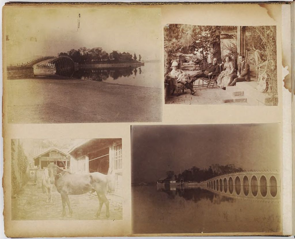 Untitled (Bridge, Wooded Island In Background)