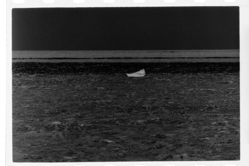 Untitled (Fishing Boat Out On The Water, Nazaré, Portugal)