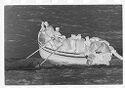 Untitled (Men Boarding Fishing Boat In The Ocean, Nazaré, Portugal)