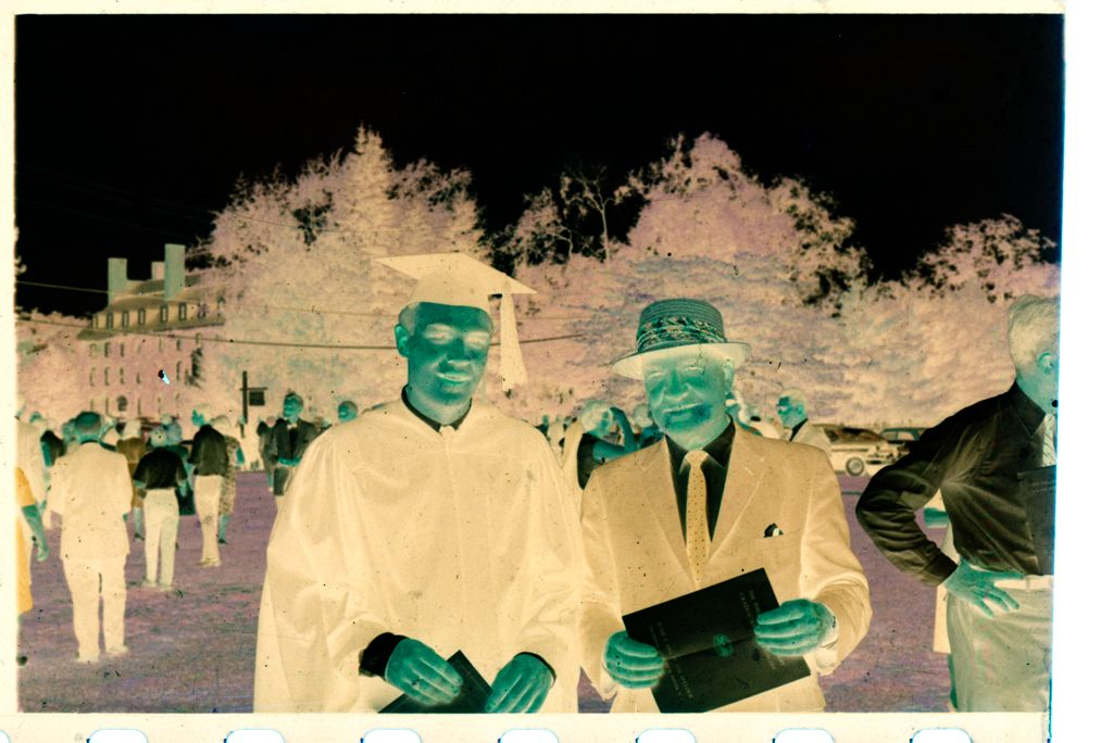Untitled (Gordon Gahan And Family At Phillips Exeter Academy Graduation, Exeter, New Hampshire)
