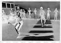 Untitled (Dance Class With Two People Dancing In Center Of Room)