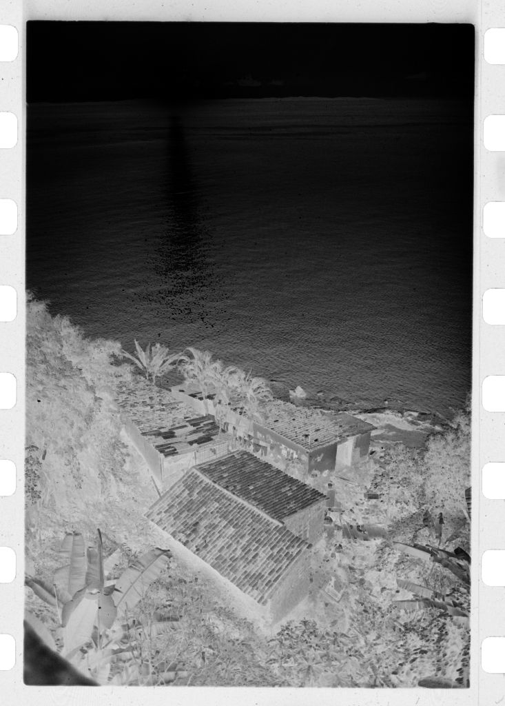 Untitled (Aerial View Of Buildings On Coastal Hillside)
