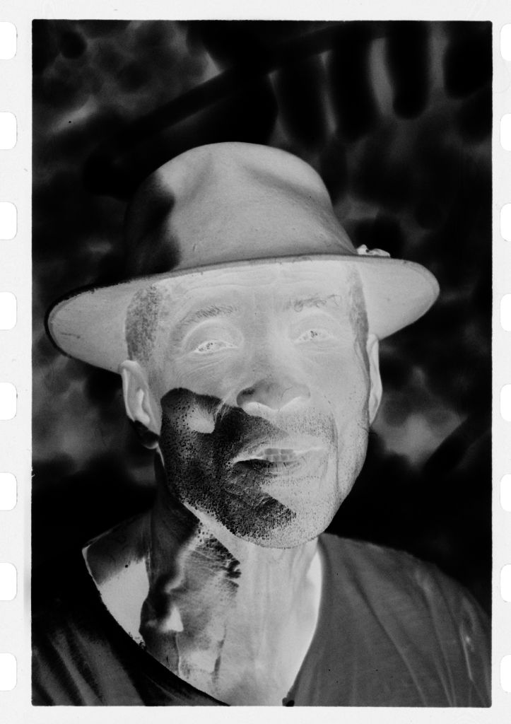 Untitled (Man In White Shirt And Fedora)