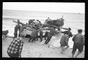 Untitled (Men Preparing To Launch Fishing Boat, Nazaré, Portugal)