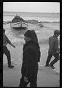Untitled (Men On Beach In Front Of Fishing Boat, Nazaré, Portugal)