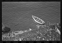 Untitled (Aerial View Of Rowboat On Water)