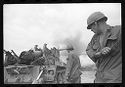 Untitled (Soldiers Firing 175 Mm Cannon, Vietnam)