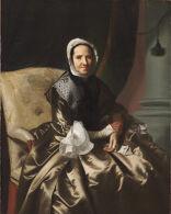 Sarah Morecock Boylston (Mrs. Thomas Boylston) (1696-1774)