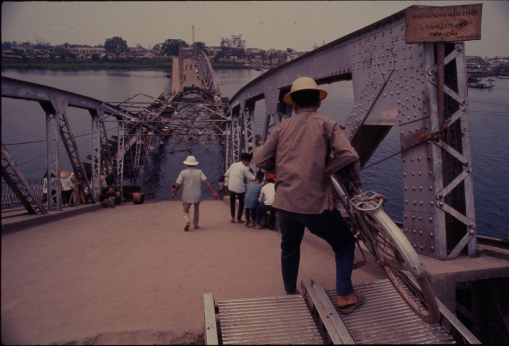 Untitled (Collapsed Bridge, Perfume River, Hue, Vietnam)