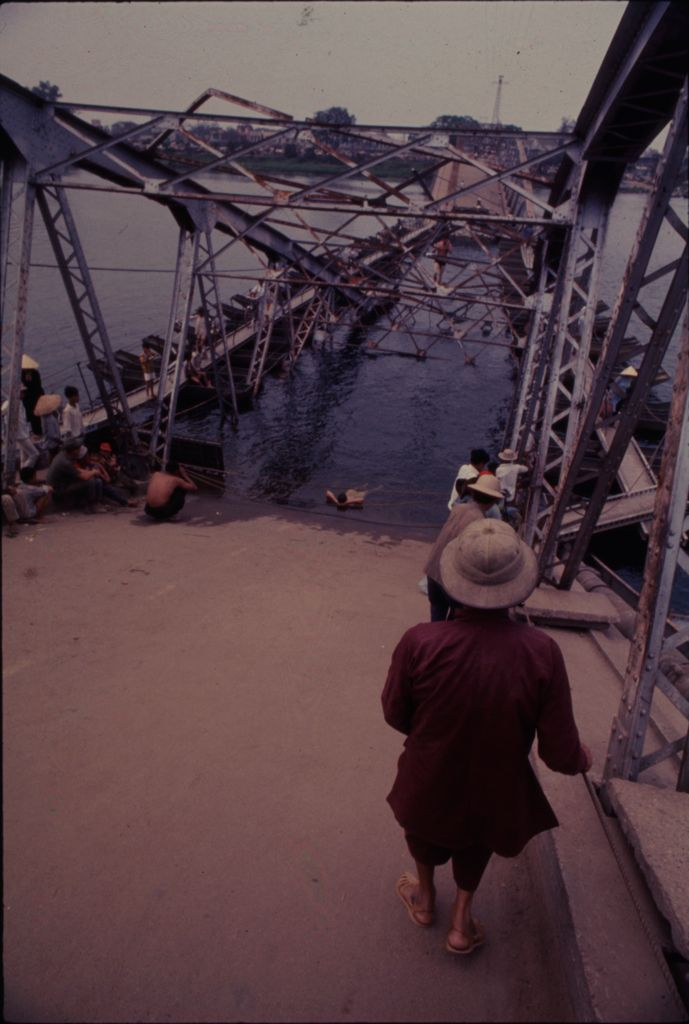 Untitled (Collapsed Bridge, Perfume River, Hue, Vietnam)