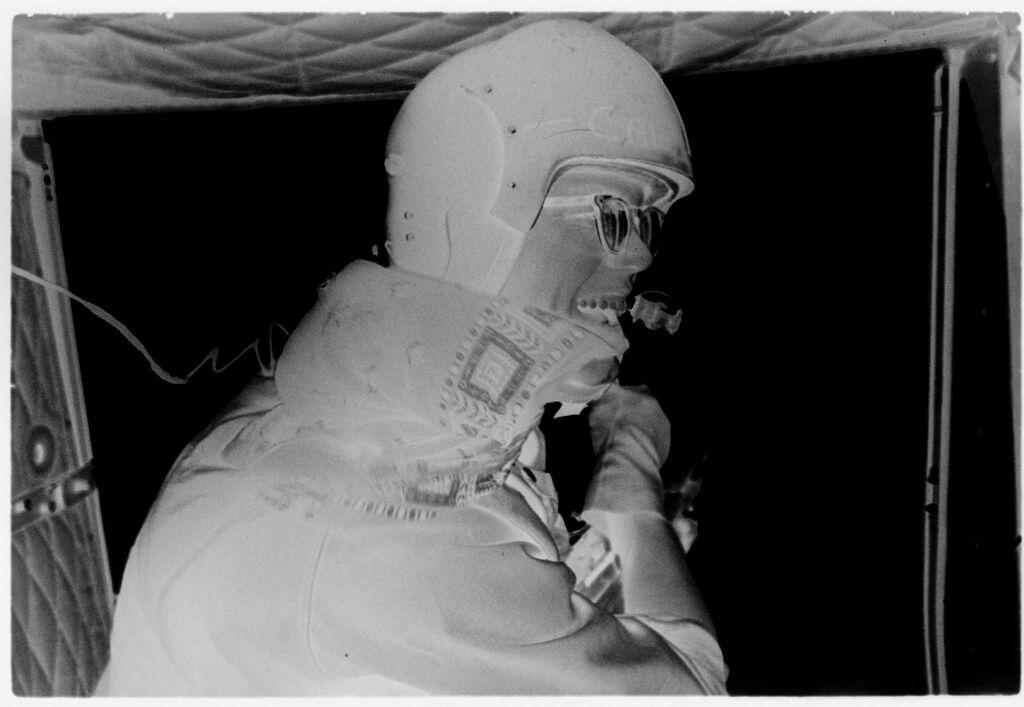 Untitled (Soldier Inside Aircraft, Vietnam)