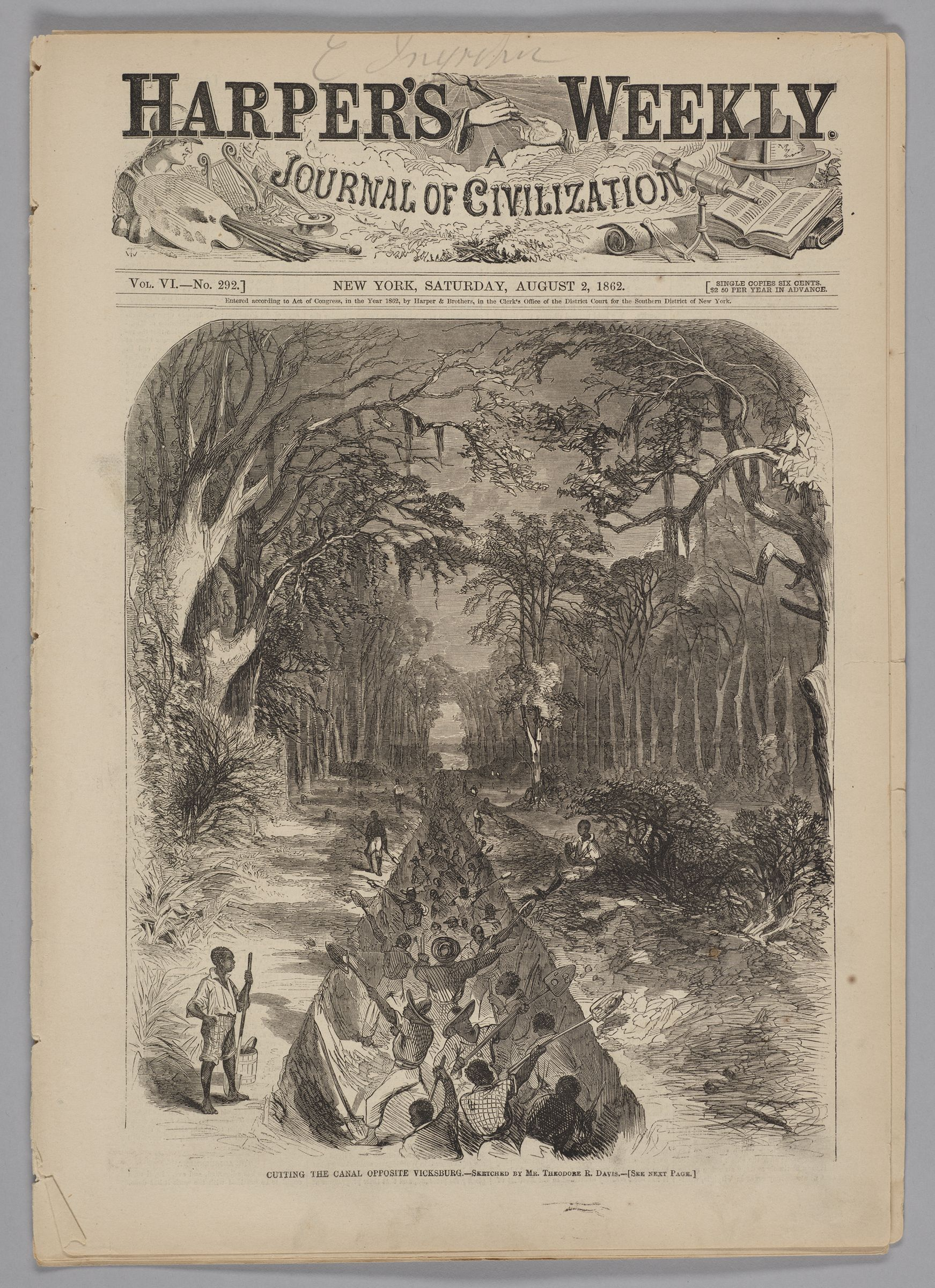 Harper's Weekly, Vol. Vi, No. 292