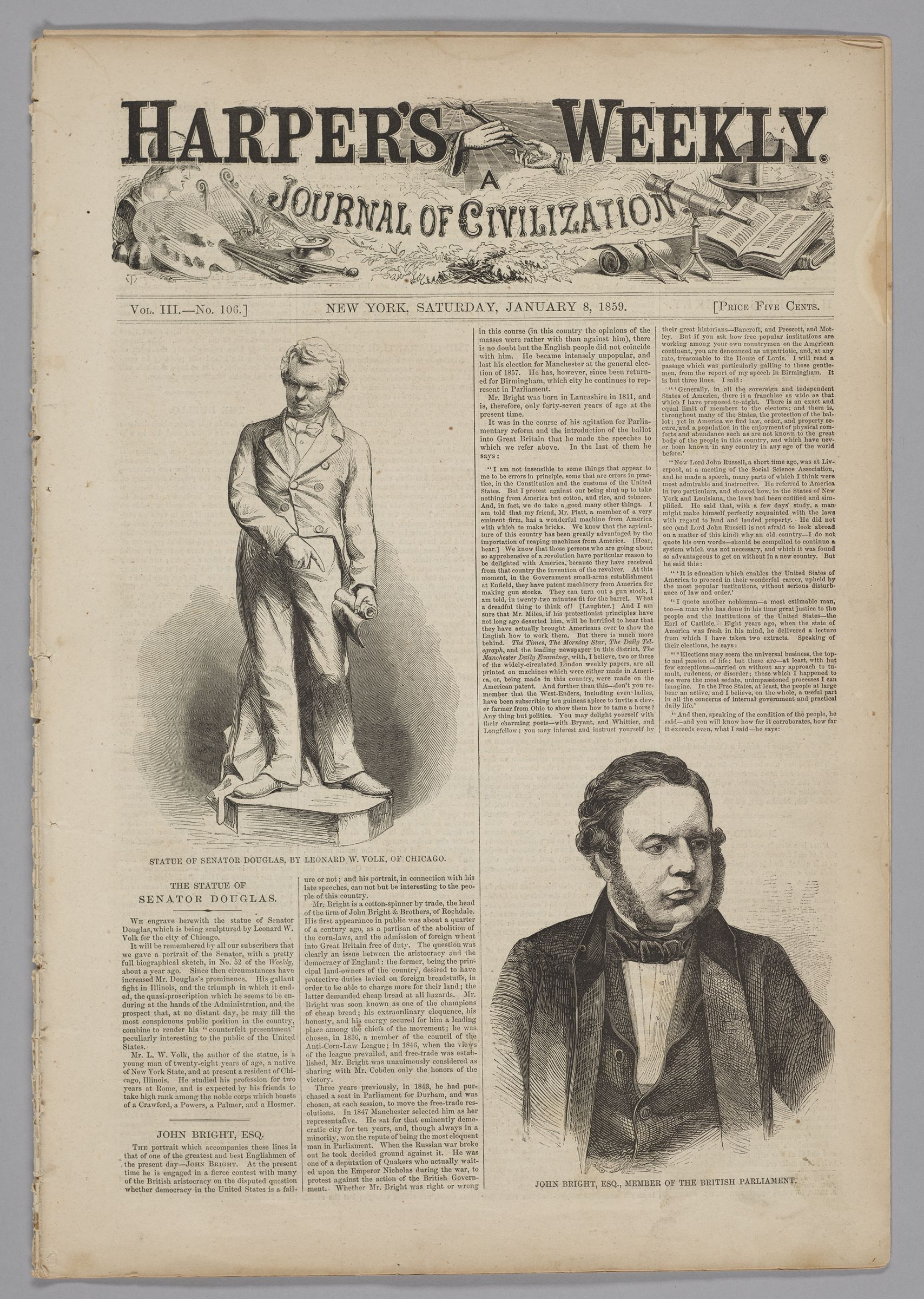 Harper's Weekly, Vol. Cxi, No. 106