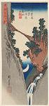 Bow-shaped Crescent Moon (Yumiharizuki), from the series Twenty-eight Views of the Moon (Tsuki nijū hakkei no uchi)