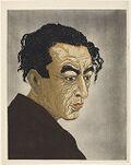 Portrait of Poet Hagiwara Sakutarō
