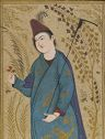 Youth Dressed As A Dervish, Folio From An Album