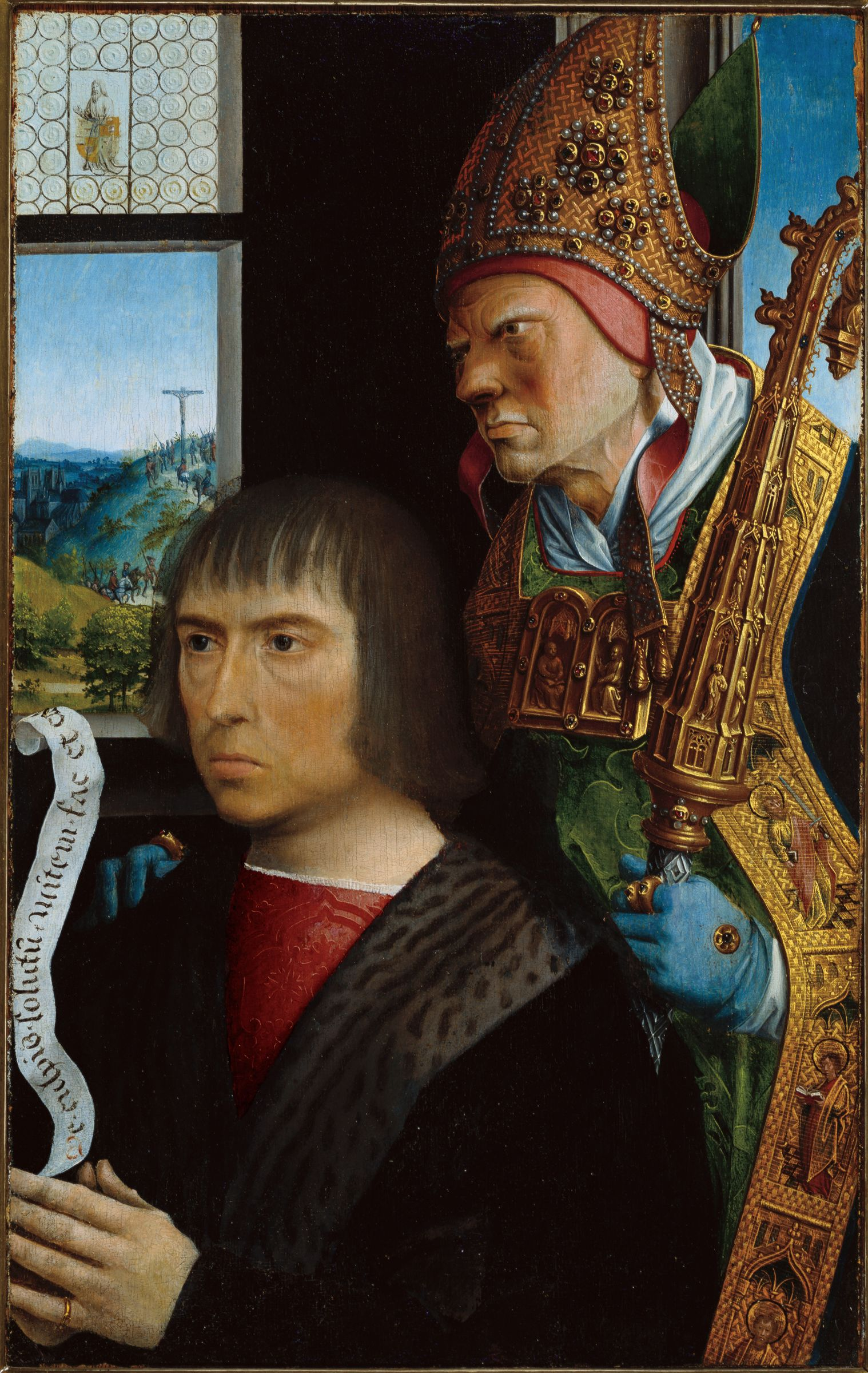 Joos Van Der Burch And Saint Simon Of Jerusalem