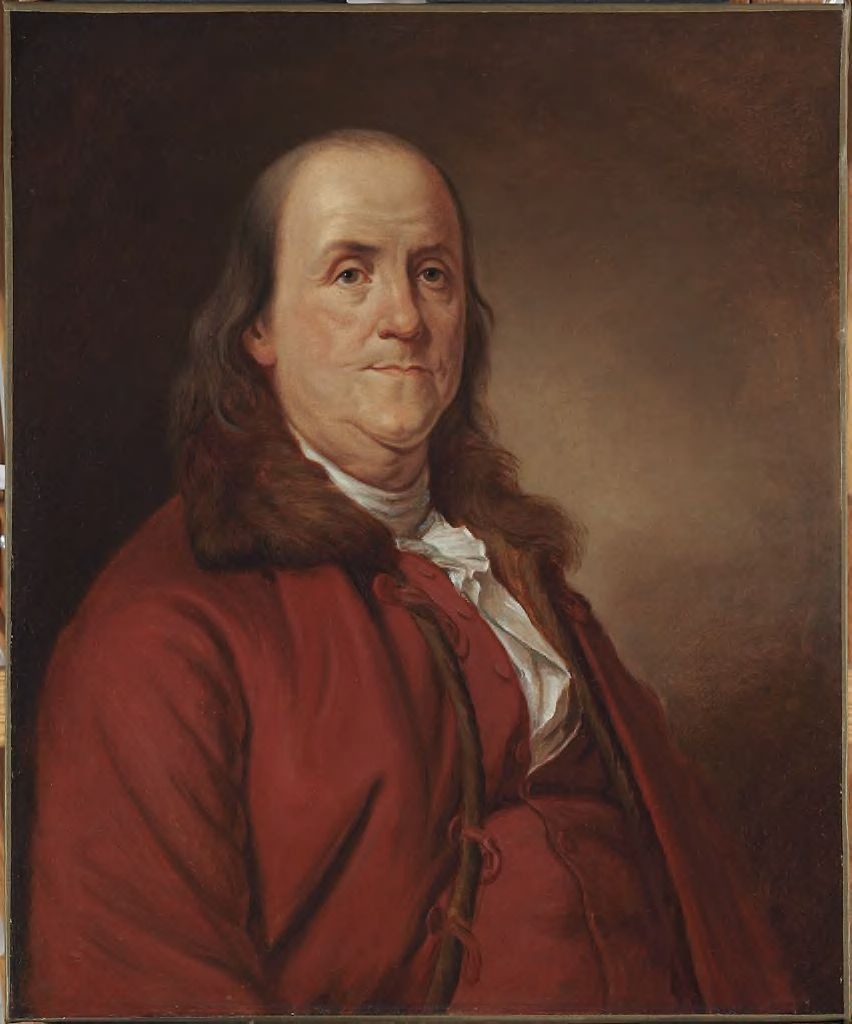 Benjamin Franklin (1706-1790), After Joseph-Siffred Duplessis (1725-1802)