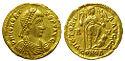 Solidus Of Honorius, Ravenna