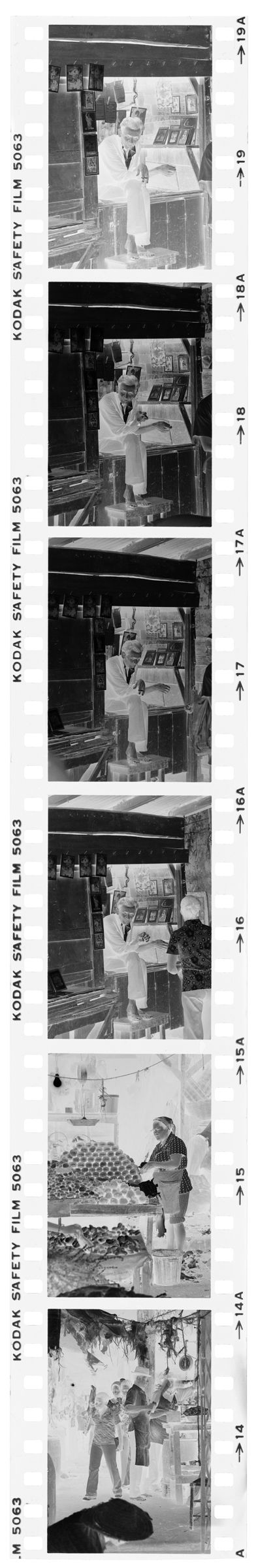 Untitled (Food Stands And Picture Stall In Market)