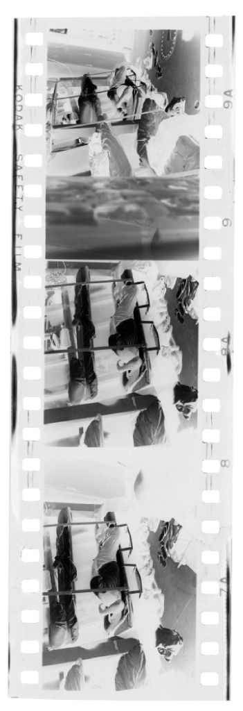 Untitled (Soldier Lying In Bunk (On Ship?), Vietnam)