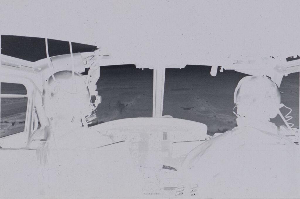 Untitled (Inside Helicopter Cockpit, Vietnam)