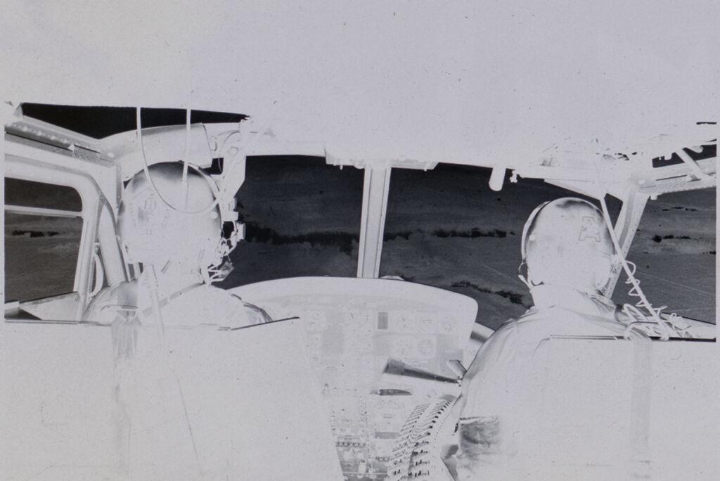 Untitled (Inside Cockpit Of Helicopter, Vietnam)
