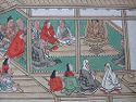 Pair Of Narrative Handscrolls: Illustrated History Of The Yûzû-Nembutsu Sect (Yûzû-Nembutsu Engi)