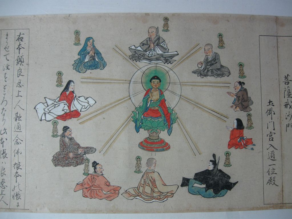 Illustrated History Of The Yûzû-Nembutsu Sect (Yûzû-Nembutsu Engi), Vol. Ii