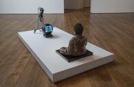 TV Buddha (Bronze Seated Buddha)