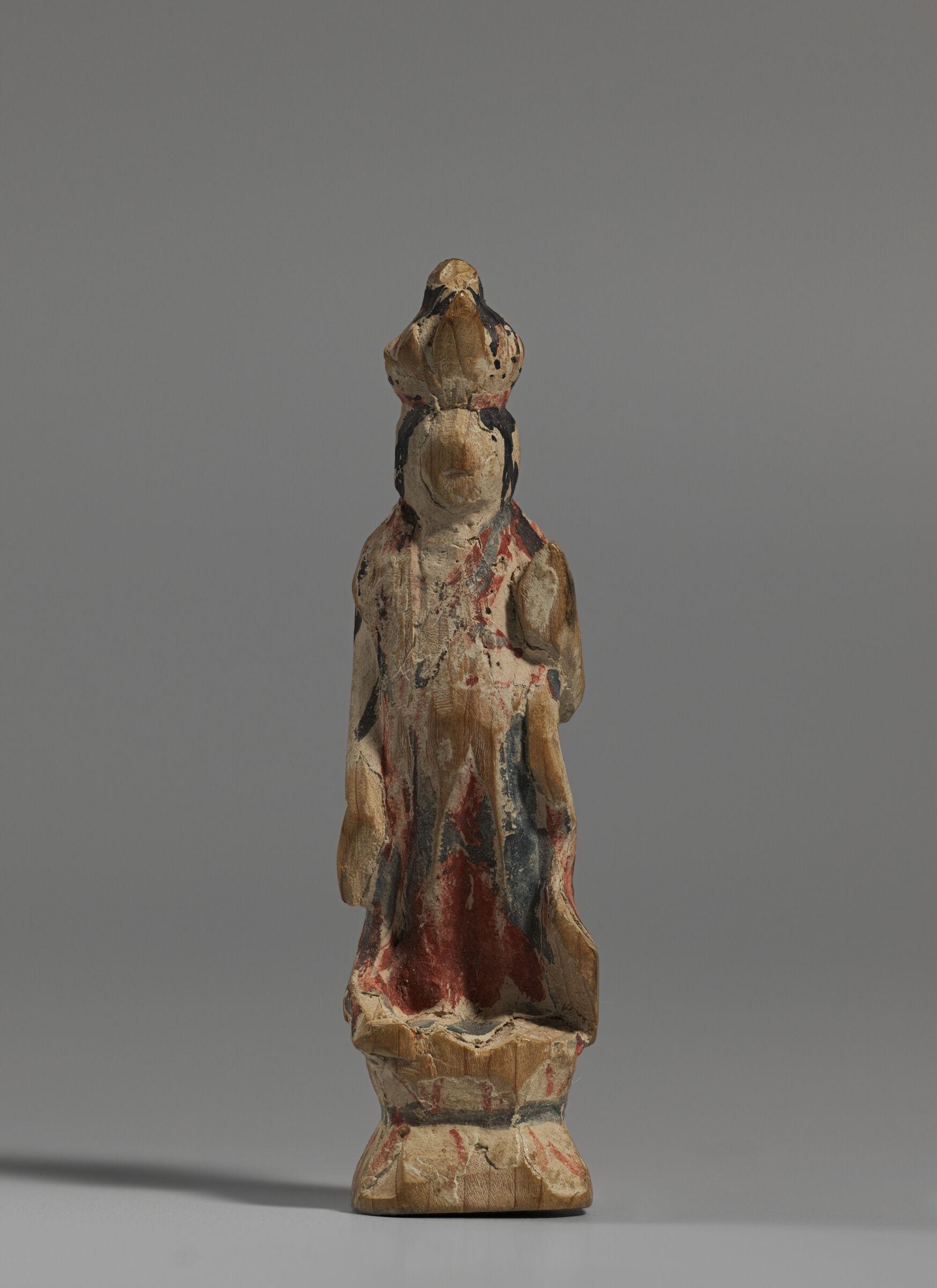 Small Image Of Eleven-Headed Avalokitesvara Bodhisattva (Japanese: Jūichimen Kannon)
