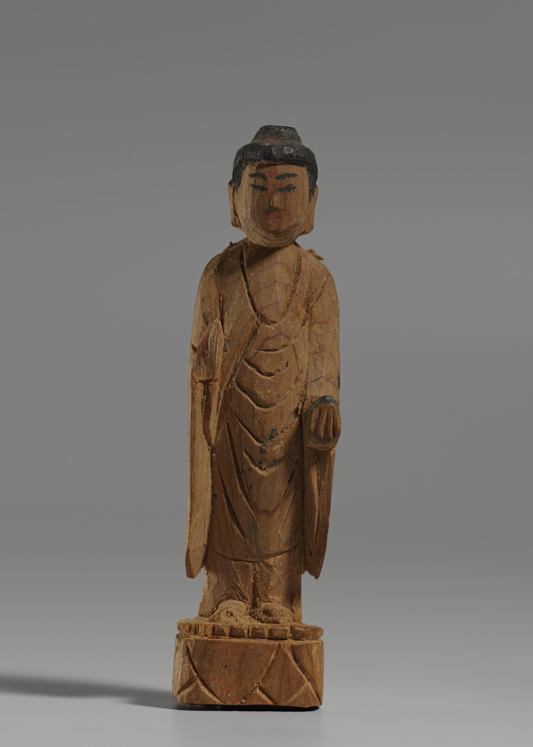 Small Image Of Medicine Buddha Bhaisajyaguru (Japanese: Yakushi Nyorai)